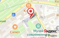 Схема проезда до компании Школа Реаниматолога в Москве