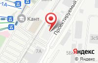 Схема проезда до компании Финансово-Промышленная Группа «Финтэк» в Москве