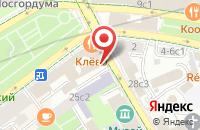 Схема проезда до компании Хюбнер Ооо  в Москве