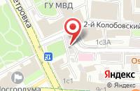 Схема проезда до компании Дженис в Москве