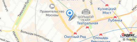 Юдин и партнеры на карте Москвы