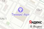 Схема проезда до компании Омар Хайям в Москве
