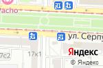 Схема проезда до компании Афива в Москве