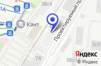Схема проезда до компании ПТФ ГАЛАКТИК-СЕРВИС в Москве