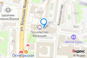 Снять двухкомнатную квартиру в Москве улица Большая Якиманка, 45