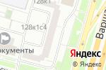 Схема проезда до компании Волшебница в Москве