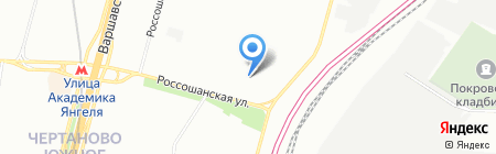 ТНГ на карте Москвы