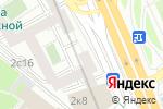 Схема проезда до компании Novikov Catering в Москве