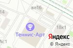 Схема проезда до компании Перун в Москве