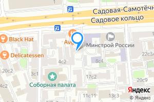 Комната в двухкомнатной квартире в Москве Садовая-Самотёчная ул., 6с1