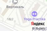 Схема проезда до компании Классика Массажа в Москве