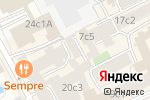 Схема проезда до компании Три Звезды+ в Москве