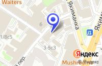 Схема проезда до компании ПТК ТРЕЙС ХОЛДИНГ в Москве