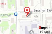 Схема проезда до компании Нпо Синтез-М в Москве