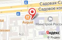 Схема проезда до компании Фаэтон в Москве