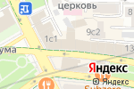 Схема проезда до компании Профессиональное кредитование в Москве