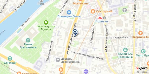 Bon appetit на карте Москве
