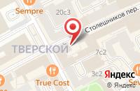 Схема проезда до компании Технопринт в Москве
