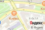 Схема проезда до компании La Maree в Москве