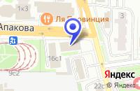Схема проезда до компании ТФ ГЕОТЕХНОЛОГИИ в Москве