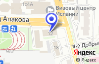 Схема проезда до компании АКБ СЦС СОВИНТЕЛ в Москве
