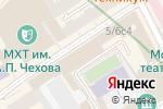 Схема проезда до компании Hidden Bar в Москве