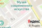 Схема проезда до компании Art World в Москве