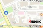 Схема проезда до компании Петровские Ворота в Москве