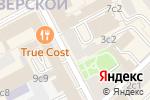 Схема проезда до компании 365 detox в Москве
