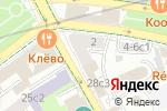 Схема проезда до компании Костюмерная №1 в Москве