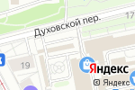 Схема проезда до компании Moscow Flower School в Москве