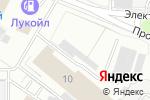 Схема проезда до компании Пика флор в Москве