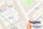Схема проезда до компании Билетклик.ру в Москве