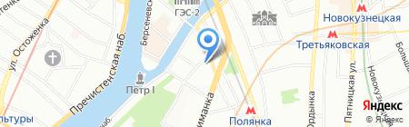Домус на карте Москвы