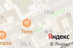Схема проезда до компании БАТИНИ в Москве