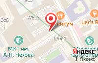 Схема проезда до компании Экострой в Москве