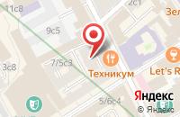 Схема проезда до компании Бравура в Москве