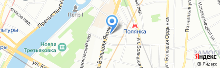 Каре Сервис на карте Москвы