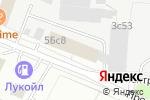 Схема проезда до компании Кей Инфо Системс в Москве