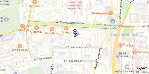 HendrixStudio на карте Москве
