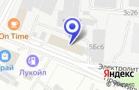 Схема проезда до компании КБ НАЦПРОМБАНК в Москве