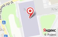 Схема проезда до компании Идея Форте в Москве