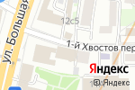 Схема проезда до компании Glorybody в Москве