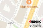 Схема проезда до компании Chefshows by Novikov в Москве