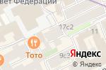 Схема проезда до компании Уютная компания в Москве