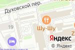 Схема проезда до компании Алюпром в Москве