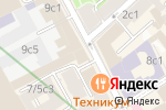 Схема проезда до компании Служба грузоперевозок в Москве