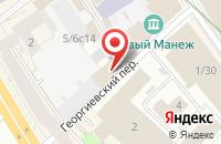 Схема проезда до компании Алларис в Москве