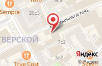 Схема проезда до компании Фэшнпорт в Москве