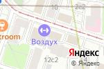 Схема проезда до компании Боровский кирпич в Москве